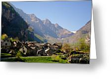 Alpine Village Greeting Card