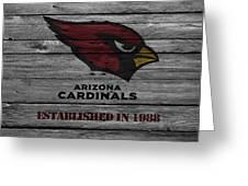 Arizona Cardinals Greeting Card