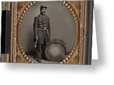 Civil War Soldier, C1863 Greeting Card