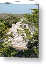 Edzna In Campeche Greeting Card