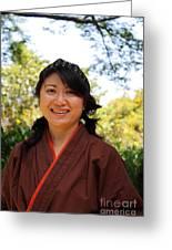 Japanese Women Greeting Card