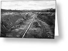 Panama Canal, C1910 Greeting Card
