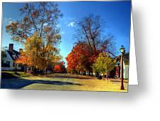 Williamsburg Virginia Usa Greeting Card