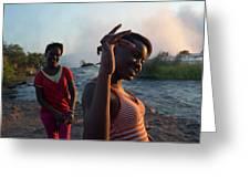Zambia Greeting Card