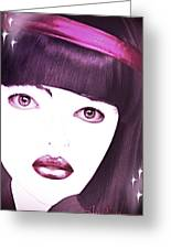 Pikotine Art Greeting Card