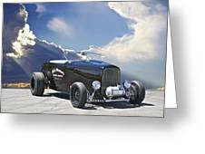 1932 Ford Roadster Greeting Card