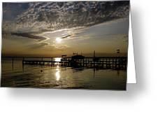 An Outer Banks Of North Carolina Sunset Greeting Card