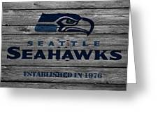 Seattle Seahawks Greeting Card