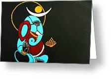25 Varadavinayaka Ganesh Greeting Card