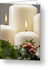Advent Wreath Greeting Card
