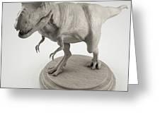 Dinosaur Tyrannosaurus Greeting Card