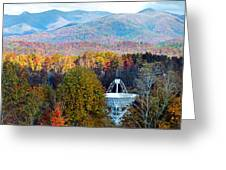 26 East Antenna And The Blueridge Greeting Card