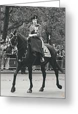 Trooping The Colour Ceremony Greeting Card