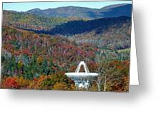 26 West Antenna And The Blueridge Greeting Card