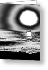 26th St Beach Greeting Card by Daniel Brodell-Lake