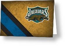 Jacksonville Jaguars Greeting Card by Joe Hamilton