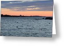 Maine Seascapes Greeting Card