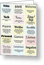 27 Ways To Greet Students Greeting Card