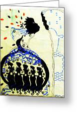 Wise Virgins Greeting Card by Gloria Ssali