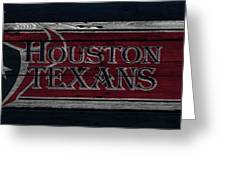 Houston Texans Greeting Card