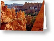 Usa, Utah, Bryce Canyon National Park Greeting Card