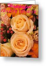 Flowers For You Greeting Card by Gornganogphatchara Kalapun