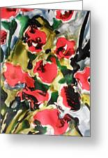 Fragrance Of Flowers Greeting Card