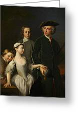 2nd Baron Mansel Of Margam With His Blackwood Half-brothers And Sister  Greeting Card