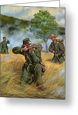 2nd United States Sharpshooters Berdan's Greeting Card