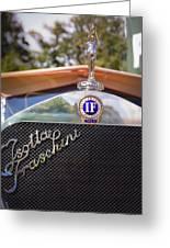 1922 Isotta-fraschini Greeting Card