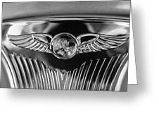 1933 Pontiac Emblem Greeting Card