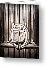 1933 Stutz Dv-32 Five Passenger Sedan Emblem Greeting Card