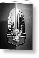 1941 Cadillac Emblem Greeting Card by Jill Reger