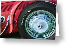 1952 Frazer-nash Le Mans Replica Mkii Competition Model Tire Emblem Greeting Card