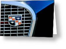 1956 Studebaker Golden Hawk Emblem Greeting Card