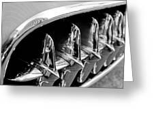 1957 Chevrolet Corvette Grille Greeting Card