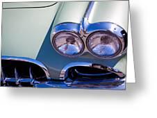 1960 Chevy Corvette Greeting Card