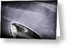 1963 Jaguar Xke Roadster Headlight Greeting Card