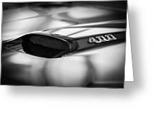 1966 Pontiac Gto Hood Emblem Greeting Card