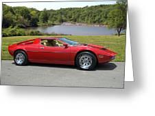 1975 Maserati Merak Greeting Card