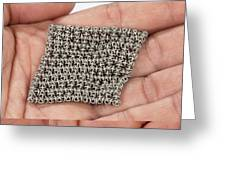 3d Printed Chain Mail Greeting Card
