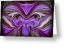 Abstract 77 Greeting Card