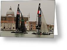 Acws In Venice Greeting Card