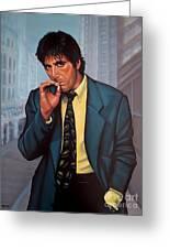 Al Pacino 2 Greeting Card
