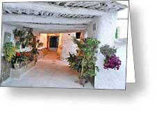 Alpujarras In Granada Greeting Card