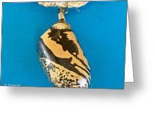 Aphrodite Mechanitis Necklace Greeting Card