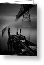 Astoria-megler Bridge Greeting Card