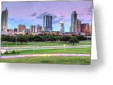 Austin At Twilight Greeting Card