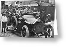 Automobile, C1915 Greeting Card