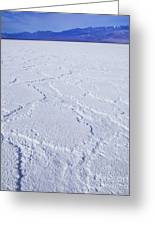 Badwater - Death Valley Greeting Card